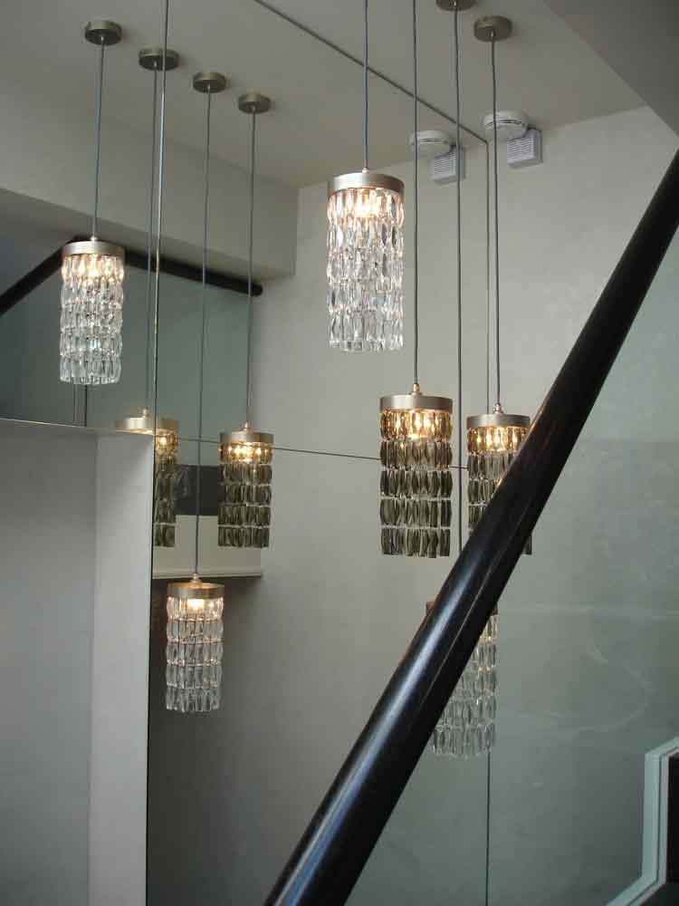 Low voltage light fittings installed by Friern Electrical